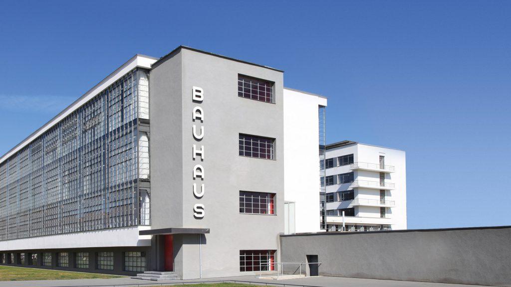 Bauhaus dessau main building in Germany