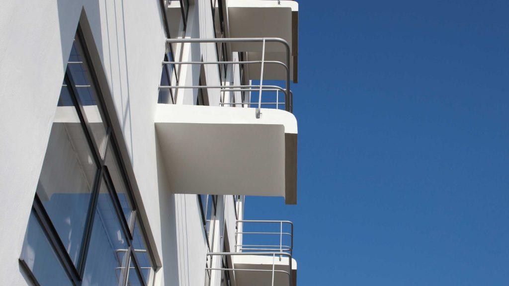 Bauhaus Dessau Atelier building with steel windows