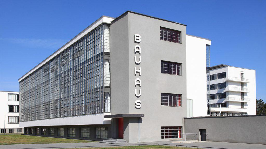 Bauhaus Dessau Atelier building with steel glazed windows