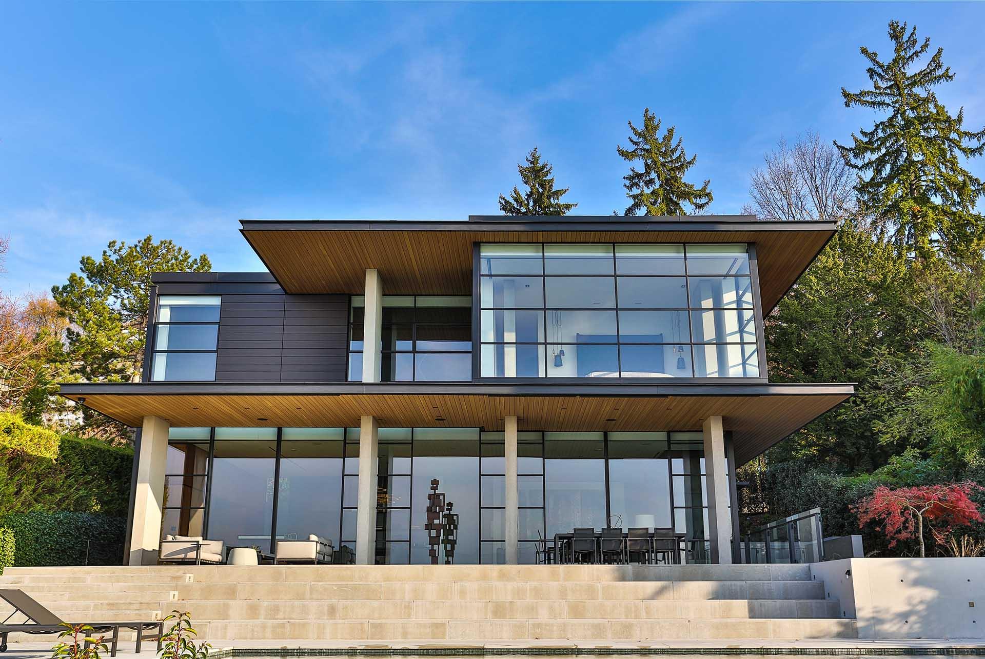 Steel beautiful windows