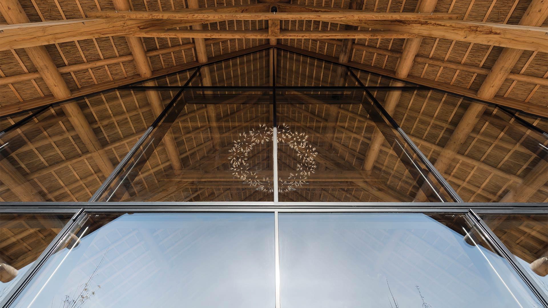 Big steel glazed windows