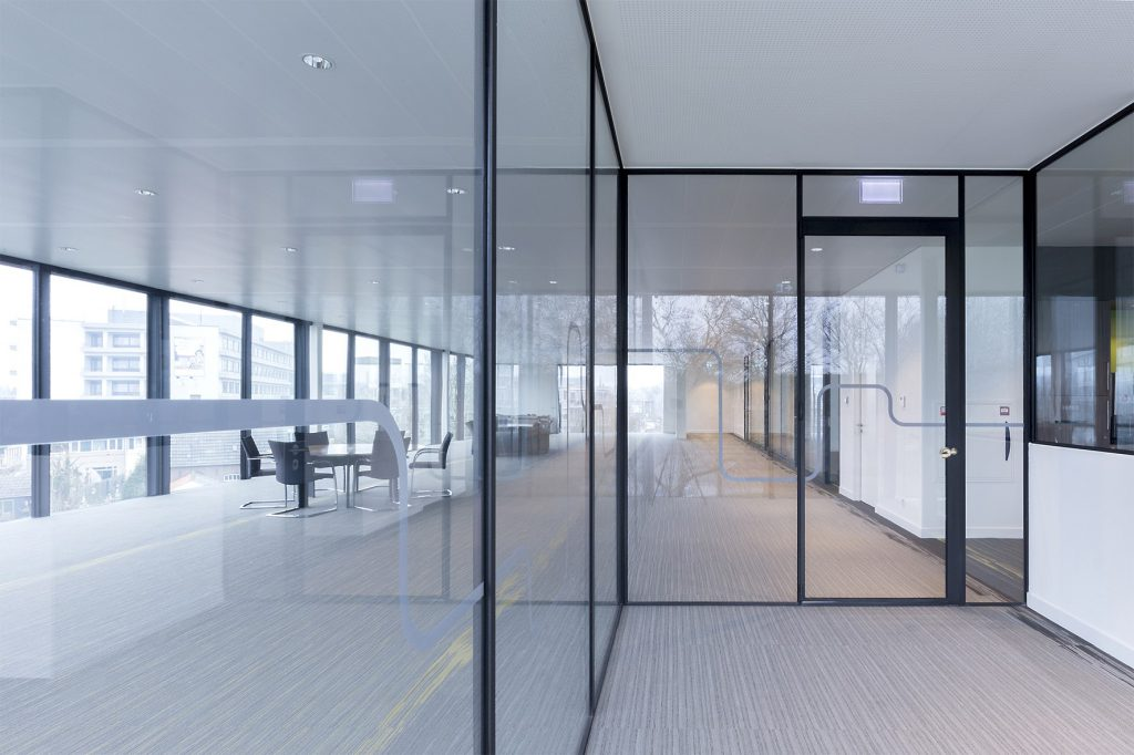 MBS-R Locking system for doors in the rabobank office building, Geldrop, the Netherlands