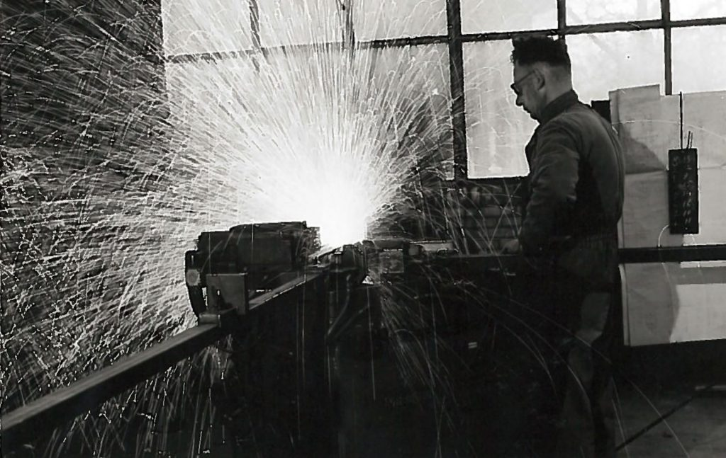 Craftsman welder from MHB in the 1930s