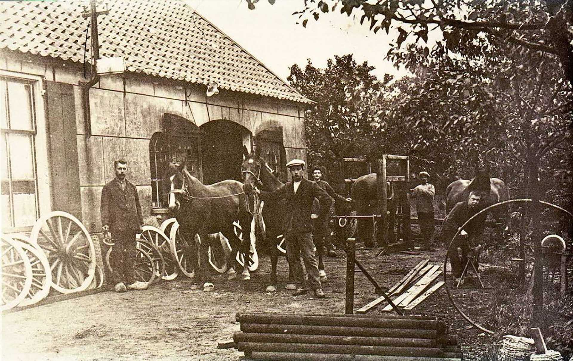 Origin story of MHB the company in 1920 at the residence and workshop